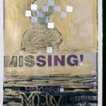 Missing Memory<br />guache on paper 20&quot;x30&quot;