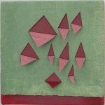 """Pink Squares<br />10"""" x 10"""""""